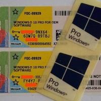 Jual Win 10 Pro COA OEM Windows 10 Professional Product Key Murah