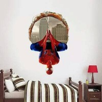 Wallpaper Walsticker Sticker Avengers Spiderman 3d 3 D Dekorasi Promo
