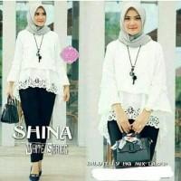 shina white / atasan murah wanita