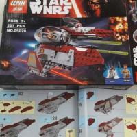 Lego Star wars Lepin 05020 Model Kit Bricks bukan action figure