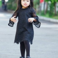 Arya dress anak lace  termurah usia 5-7th