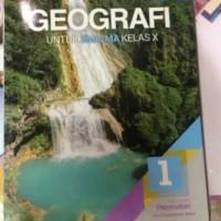 geografi kelas X revisi erlangga