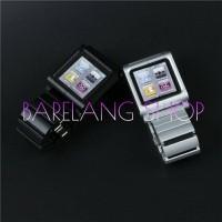iPod Nano 6 Case 6th Generation Metal Aluminum Wrist Watch Band Case
