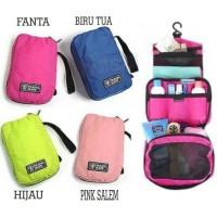 Travel Mate/ Toilet Bag/ Tas Pouch Organizer/ Tas Kosmetik