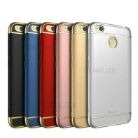 CASE IPAKY 3IN1 LIST GOLD SAMSUNG J5 PRO HARDCASE CASING COVER