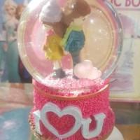 bola crystal musik snowball music box putar love couple