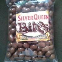 Coklat silverqueen bites mede almond kiloan 500 gram