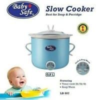 Jual BABY SAFE BABY SLOW COOKER DIGITAL 0,8L [LB007] Murah