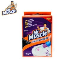 MR MUSCLE Toilet Cleaning Gel (1 applicator +6 gell) 36 ml