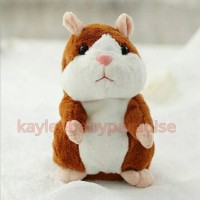 Talking Hamster Toy Kids Doll Mainan Anak Bayi Boneka Mimicry Pet Cute