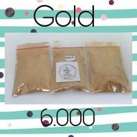 Jual Gold Powder 5gram || Powder Slime || Fay Slime | Supplier Bahan Slime Murah