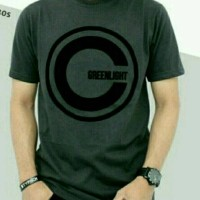 t-shirt kaos GREEN LIGHT