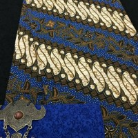 Jual murah lengkap jabodetabek kain batik (tanpa embos) pekalongan biru Murah