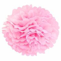 Hiasan Gantung / Pompom 20 Cm / Pompom Tissue / Pompom Pink / Pompom