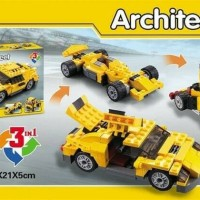 Jual Lego china architect city 3in1 cars sports car Murah