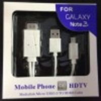 KABEL MICRO USB TO HDMI HDTV MHL 1080P ADAPTER CABLE SAMSUNG NOTE 3 2