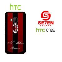 Casing HP HTC One M9 ac milan 3 Custom Hardcase