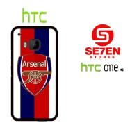 Casing HP HTC One M9 Arsenal Logo PES Custom Hardcase