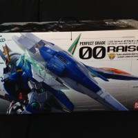 Original Bandai Perfect Grade 00 Raiser Gundam - New In Box