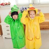 Jual Jas hujan anak2 karakter hewan./ Kid's rain coat. Murah