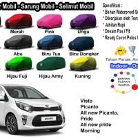 Body Cover Mobil KIA Picanto - Sarung Mobil Kia Visto - Pride Morning