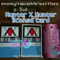 Custom Emoney Tapcash Brizzi Flazz ANIME HUNTER X HUNTER, saldo 30rb