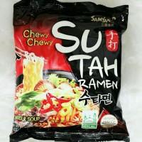 Samyang Sutah Ramen Hot Spicy Korean Instant Ramen Noodle Mie Pedas