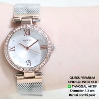 Jam tangan guess rantai wanita fashion fossil dkny terlaris murah alba