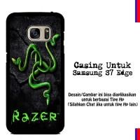 Case Samsung S7 Edge razer motif Custom Hardcase