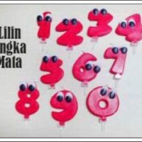 Lilin Angka MATA 0-9