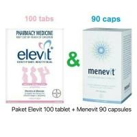 Elevit 100 tablet + Menevit 90 capsules