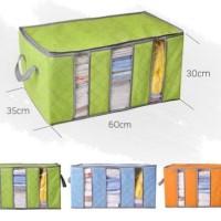 Kotak Box Tempat Penyimpanan Pakaian Dalam | Bayi Murah Bamboo