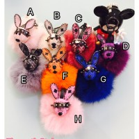 Jual Gantungan Kelinci/kopenhagen/Head rabbit good quality IMPORT MURAH Murah