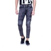 Celana Kasual Pria HRCN  / Pants Male Moto Wash - H 4064