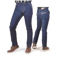 Celana Panjang Pria Denim Biru Keren - USC 705