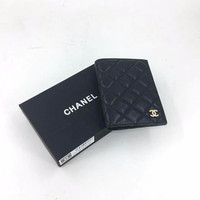 JUAL DOMPET CHANEL PASSPORT HOLDER MIRROR QUALITY PRIA WANITA ORIGINAL