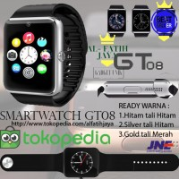 Smartwatch U10 GT08 - Full Black Smart Watch Camera SIM SMS MICRO SD
