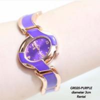 supplier jam tangan wanita fashion rantai simple motif sisir fossil dw