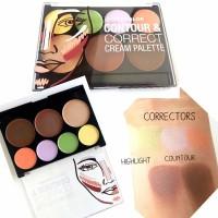 Jual City Color Contour Correct Cream Palette Color Corrector Concealer Murah