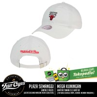 Jual [AUTHENTIC] Chicago Bulls Dad Strapback Hat by Mitchell and Ness Murah