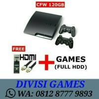 PS3 Slim 120GB - CFW MULTIMAN refurbish by sony