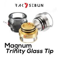 810 Trinity Style Glass Driptip Goon Peerless Mage Druga RDA Drip tip