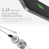 Jual WSKEN X CABLE ROUND MAGNETIC CHARGING LIGHTNING FOR IOS (APPLE) Murah