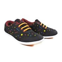 Sepatu Running Casual Sport TREKKERS Wanita TX-Star Hitam/Merah Bata