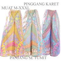 Jual Celana Kulot Klok Panjang Batik C46C47C48 Murah