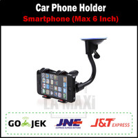Car Phone Holder Model Jepit / Holder Hp untuk Mobil (Max 6 inch)