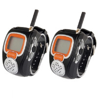 Freetalker Watch Walkie Talkie 462MHz-467MHz Up to 6Km of Range -2pcs