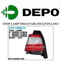 STOP LAMP NISSAN GRAND LIVINA 2013 LH