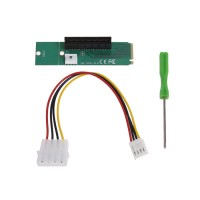 Original M2 to PCIE NGFF M.2 M Key to PCI-E 4X Adapter Converter