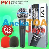 PVI BETA 58S SWITCH ORIGINAL MIC/MIK/MICROPHONE/MIKROFON KABEL ASLI